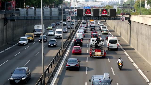 Verkehr auf der Autobahn, Echtzeit – Video