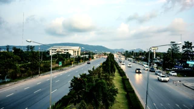 traffic on highway video
