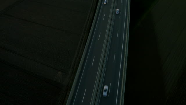 AERIAL Traffic On The Highway video