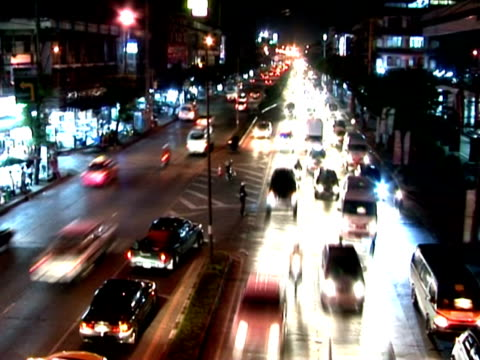 time lapse del traffico - subway video stock e b–roll