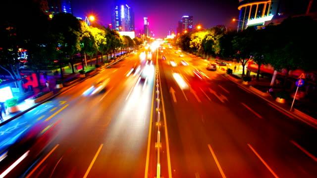 Traffic to night