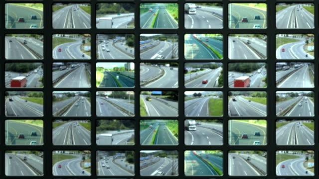 traffic  videowall video