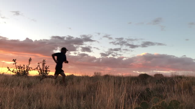 trail running video