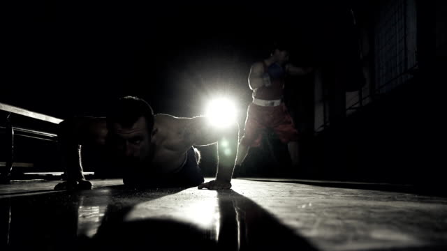 HD SUPER SLOW MO: Train Boxing video