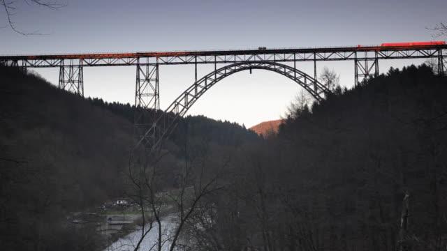 Train bridge video