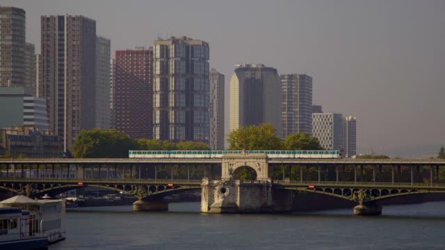 pociąg francja paryż - intercity filmów i materiałów b-roll