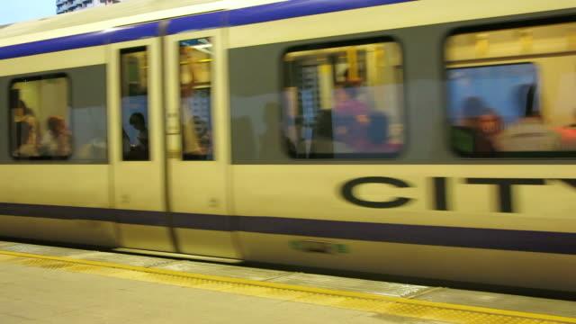 Train in Asia video