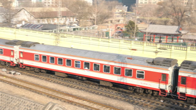 4K VDO : Train in Beijing video