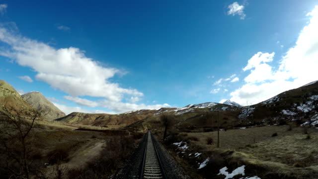 東部アナトリアでの列車の旅 - アナトリア点の映像素材/bロール