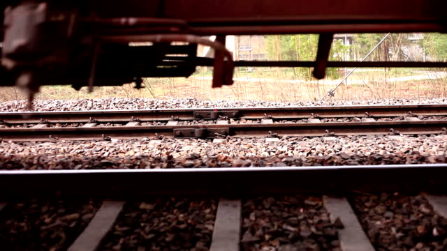 Train moving past HD1080p: Train moving past. haryana stock videos & royalty-free footage