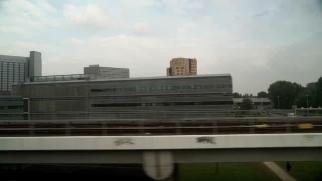 列車でモダンなホランド - クラシファイド広告点の映像素材/bロール