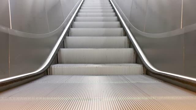 Train Station Escalators video