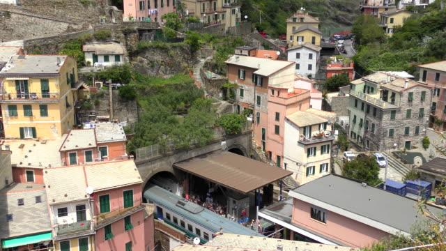 Train Station - Vernazza, Italy video