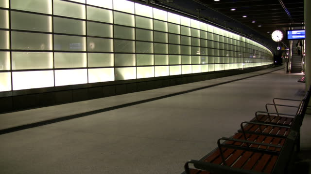 train station - post modern architecture stock videos & royalty-free footage