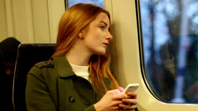 Train text message. video