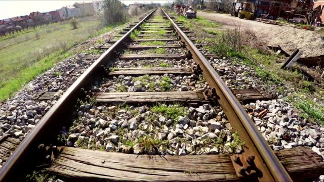 Train tracks Train tracks railroad track stock videos & royalty-free footage
