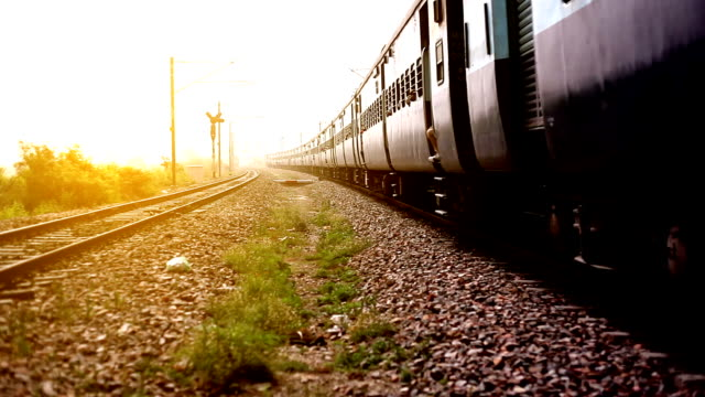 train - intercity filmów i materiałów b-roll