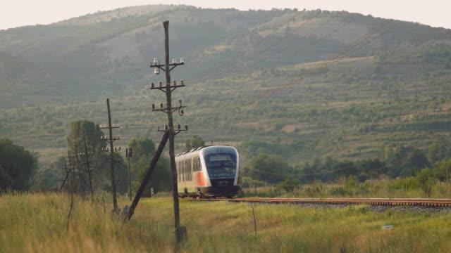 pociąg z dźwiękiem - intercity filmów i materiałów b-roll