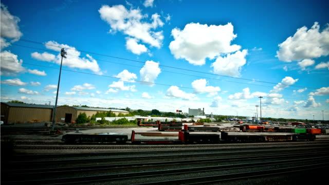 Train Yard time lapse video