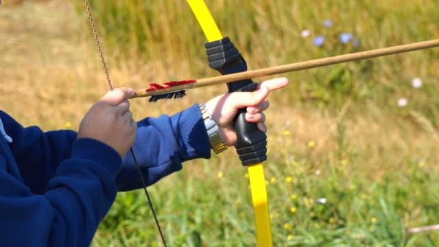 vidéos et rushes de formation au tir à l'arc - tir à l'arc