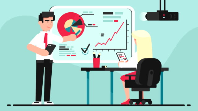 Training, presentation, business concept
