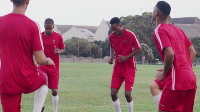 最高のトレーニング - サッカークラブ点の映像素材/bロール