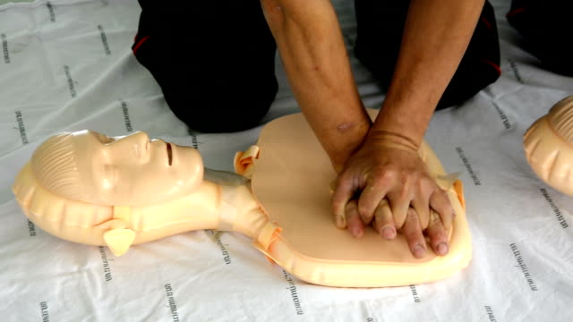 CPR training video