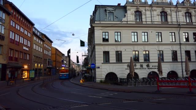 spårvagn göteborg - gothenburg bildbanksvideor och videomaterial från bakom kulisserna