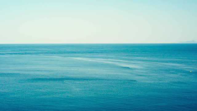 Tranquil and minimal sea view. video