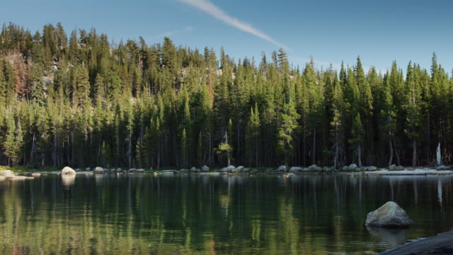 Tranquil Lake in Yosemite National Park video