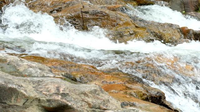 Tranquil Scene of Waterfall Stream, Sarika Waterfall,Thailand video