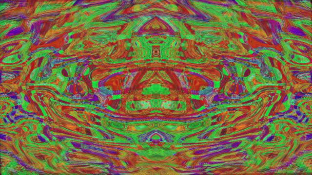 neon nostaljik trendy holografik arka plan dönüşüm. yaratıcı kullanım için yaratıcı dönüşümler - bling bling stok videoları ve detay görüntü çekimi