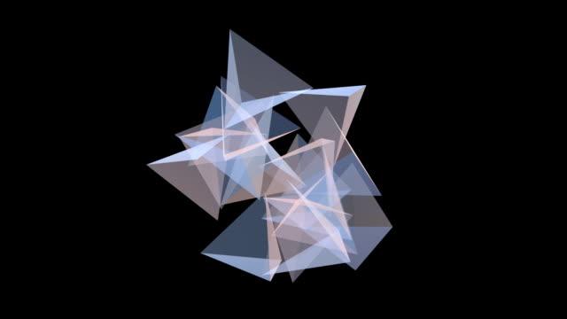 Translucent pyramid video