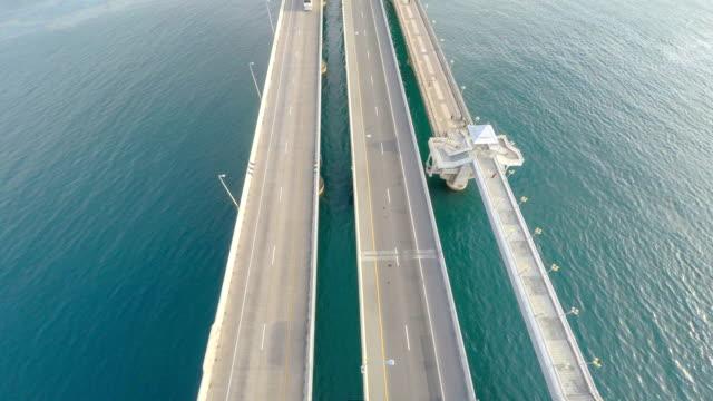 transportation bridge overhead video