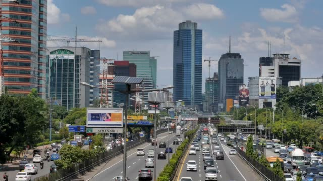 Transportation in Jakarta, Indonesia Transportation in Jakarta, Indonesia jakarta stock videos & royalty-free footage