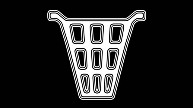 vídeos de stock e filmes b-roll de trash - teeshirt template