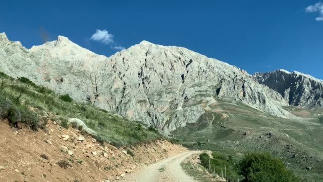 Travel by vehicle, aladag mountain, Turkey