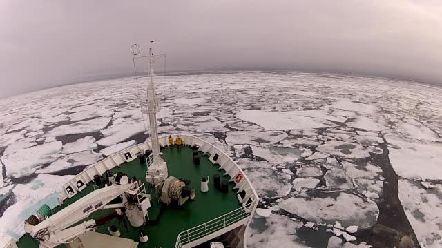 resor i isen, arctic - polarklimat bildbanksvideor och videomaterial från bakom kulisserna