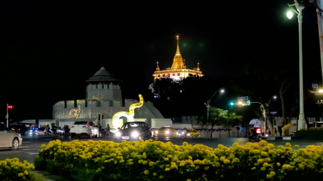travel night in Bangkok video