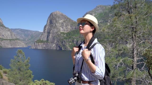traveler in yosemite travel healthy lifestyle