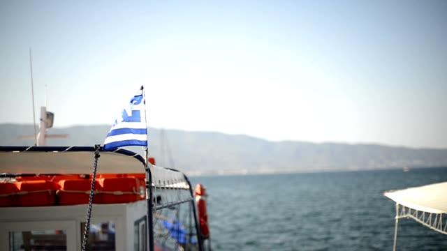 resor i grekland - turistbåt bildbanksvideor och videomaterial från bakom kulisserna