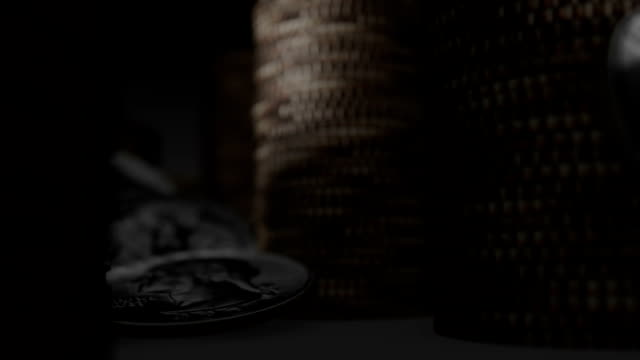 traveling through a tunnel of coins video