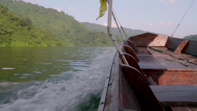 POV : Traveling With Thai Taxi Boat video