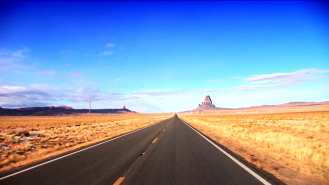 Travelling into Monument Valley, USA video