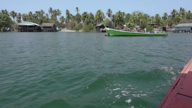 vidéos et rushes de voyage à l'île tropicale. - mer d'andaman