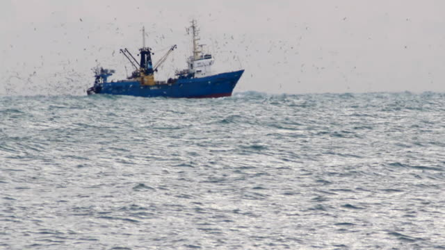 trawler fishing in the haze video