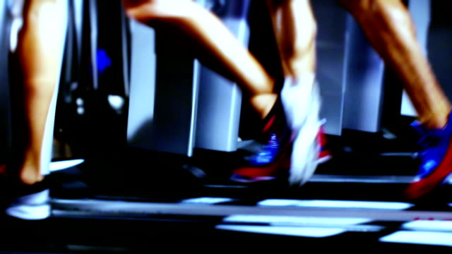 Treadmill and Fitness Exercising video