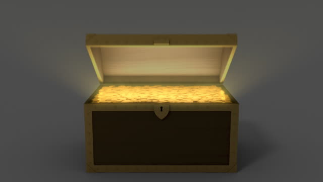 Treasure Chest with Golds video