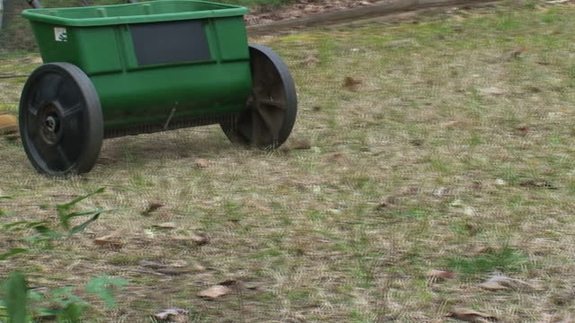 Treating a Lawn video