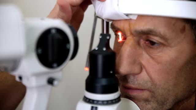 Tratamiento de enfermedades oculares. - vídeo